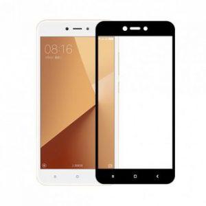 Защитное цветное стекло 2.5D Full Glue (Полный клей) Xiaomi Redmi 4X