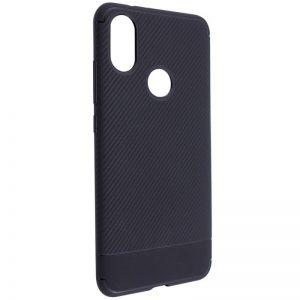 TPU чехол Carbon для Xiaomi Redmi S2 (Black)