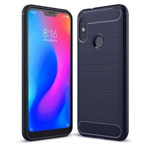 TPU чехол Slim Series для Xiaomi Mi 6X / Mi A2 (Blue)