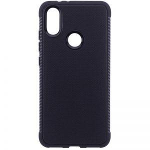 Cиликоновый (TPU) чехол Weave  для Xiaomi Redmi Note 5 / 5 Pro (Черный)