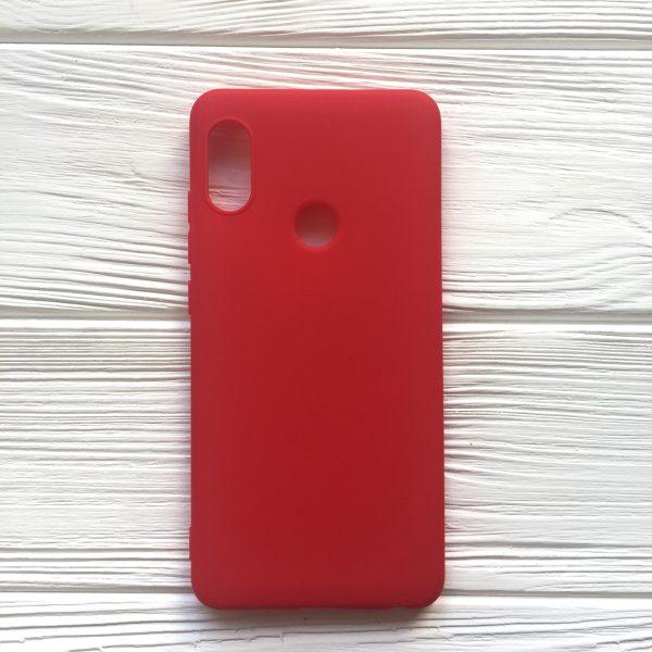 Силиконовый чехол Candy для Xiaomi Redmi Note 5 Pro / Note 5 (Red)