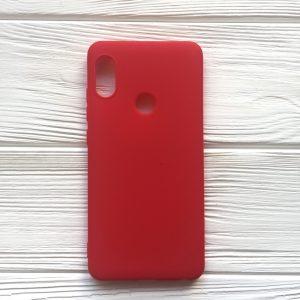 Матовый силиконовый TPU чехол для Xiaomi Redmi Note 5 / 5 Pro – Red