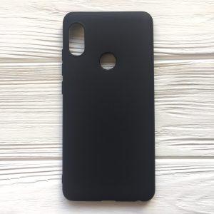 Матовый силиконовый TPU чехол для Xiaomi Redmi Note 5 / 5 Pro – Black
