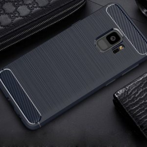 Cиликоновый (TPU) чехол Slim Series  для Samsung A530 Galaxy A8 2018 (Navy Blue)