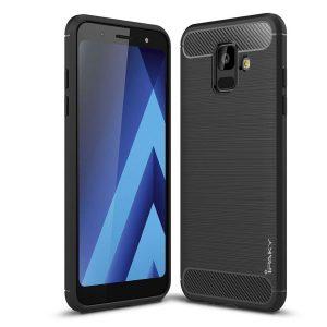 Cиликоновый (TPU) чехол Ipaky Slim Series  для Samsung Galaxy A6 2018 (Black)