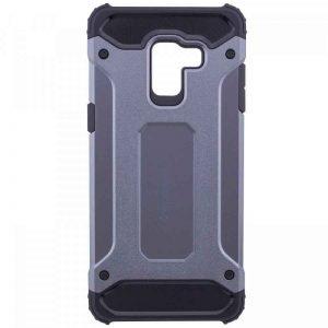 Бронированный противоударный TPU+PC чехол SPIGEN (HC) для Samsung Galaxy A6 Plus (2018) Grey