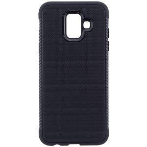 Cиликоновый (TPU) чехол Weave  для Samsung Galaxy A6 2018 (Черный)