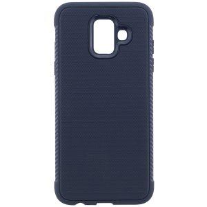 Cиликоновый (TPU) чехол Weave  для Samsung Galaxy A6 2018 (Синий)