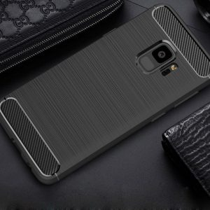 Cиликоновый (TPU) чехол Slim Series  для Samsung A730 Galaxy A8+ 2018 (Black)