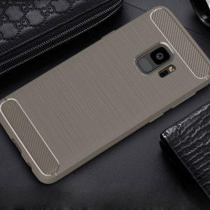Cиликоновый (TPU) чехол Slim Series для Samsung A730 Galaxy A8+ 2018 (Grey)