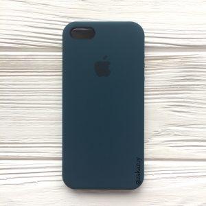 Оригинальный силиконовый чехол (Silicone case) для Iphone 5 / 5s / SE (Corsair) №1