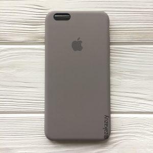 Оригинальный силиконовый чехол (Silicone case) для Iphone 6 Plus / 6s Plus (Cocoa) №32