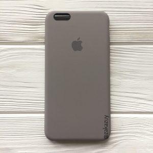 Оригинальный чехол Silicone Case с микрофиброй для Iphone 6 Plus / 6s Plus №32 (Cocoa)
