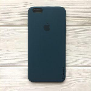 Оригинальный чехол Silicone Case с микрофиброй для Iphone 6 / 6s №1 (Corsair)