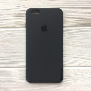 Оригинальный силиконовый чехол (Silicone case) для Iphone 6 Plus / 6s Plus (Dark Grey) №37