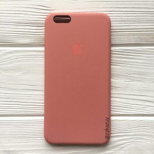 Оригинальный силиконовый чехол (Silicone case) для Iphone 6 Plus / 6s Plus (Flamingo) №25
