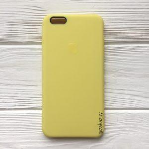 Оригинальный силиконовый чехол (Silicone case) для Iphone 6 Plus / 6s Plus (Flash) №38