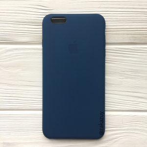 Оригинальный силиконовый чехол (Silicone case) для Iphone 6 Plus / 6s Plus (Midnight Blue)