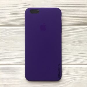 Оригинальный силиконовый чехол (Silicone case) для Iphone 6 Plus / 6s Plus (Ultra Violet) №2