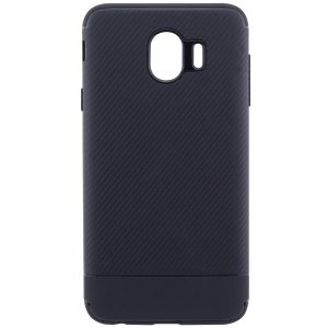 Силиконовый (TPU) чехол – бампер Carbon для Samsung J400F Galaxy J4 (2018) Black