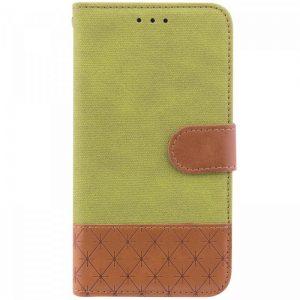 Чехол-книжка Diary с визитницей и функцией подставки для Samsung J600F Galaxy J6 2018 (Салатовый)