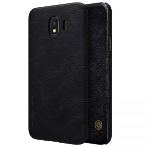 Кожаный чехол (книжка) Nillkin Qin Series для Samsung J400F Galaxy J4 (2018) Black