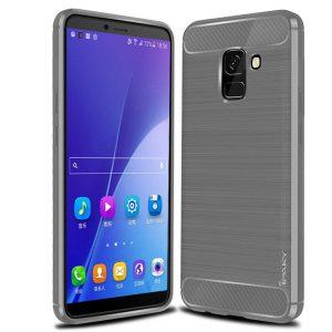 Cиликоновый (TPU) чехол Ipaky Slim Series для Samsung J600F Galaxy J6 2018 (Grey)