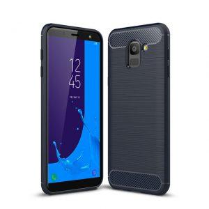 Cиликоновый (TPU) чехол Slim Series для Samsung J600F Galaxy J6 2018 (Blue)