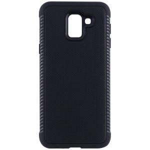 Cиликоновый (TPU) чехол Weave для Samsung J600F Galaxy J6 2018 (Черный)