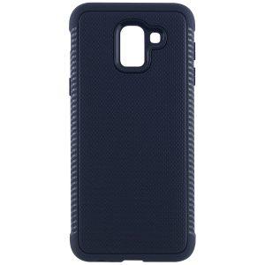 Cиликоновый (TPU) чехол Weave  для Samsung J600F Galaxy J6 2018 (Синий)