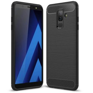 Cиликоновый (TPU) чехол Slim Series для Samsung Galaxy J8 2018 (Black)