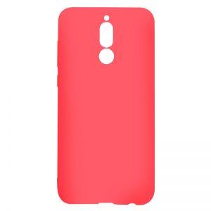 Матовый силиконовый TPU чехол на Huawei Mate 10 Lite (Red)