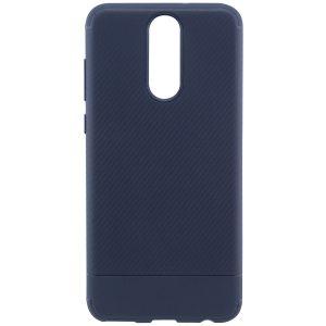 Cиликоновый (TPU) чехол Carbon  для Huawei Mate 10 Lite (Синий)