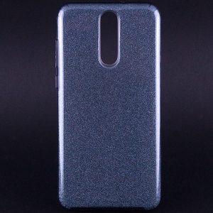 Силиконовый (TPU+PC) чехол Shine с блестками для Huawei Mate 10 Lite (Черный)