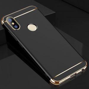 Матовый пластиковый чехол Joint Series для Xiaomi Mi 6X / Mi A2 (Black)
