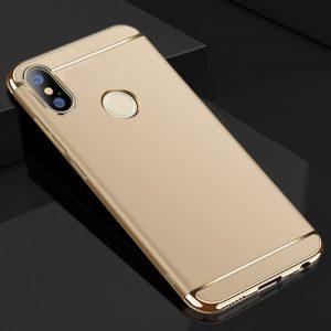 Матовый пластиковый чехол Joint Series для Xiaomi Mi 6X / Mi A2 (Gold)