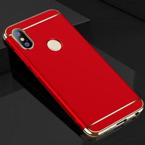 Матовый пластиковый чехол Joint Series  для Xiaomi Redmi 6 Pro / Mi A2 Lite (Red)