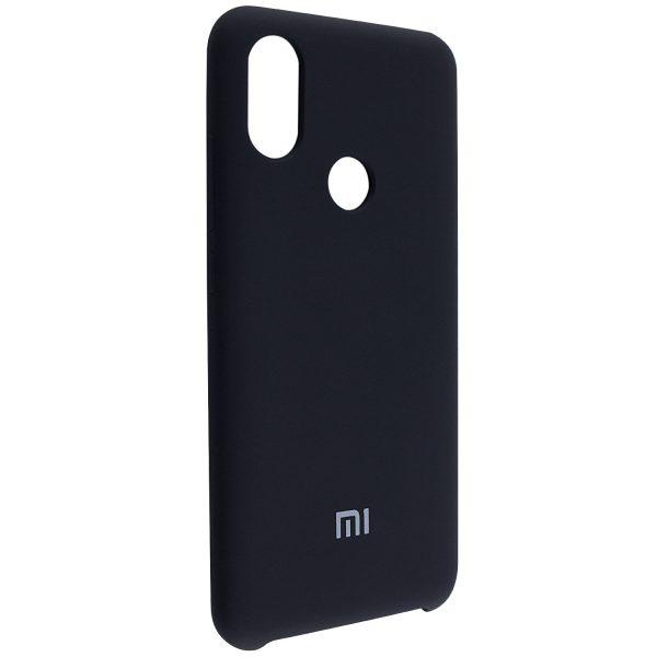 Оригинальный силиконовый чехол для Xiaomi Mi 6X / Mi A2 (Black)