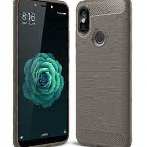 Cиликоновый (TPU) чехол Ipaky Slim Series  для Xiaomi Mi 6X / Mi A2 (Grey)