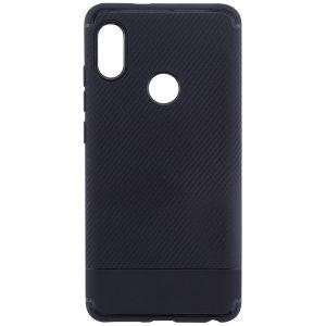 Cиликоновый (TPU) чехол Carbon для Xiaomi Redmi Note 5 Pro / Note 5 (Черный)