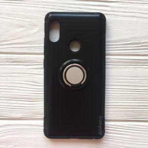 TPU+PC чехол Deen Verus с креплением под магнитный держатель для Xiaomi Redmi Note 5 Pro/Note 5 (Black)
