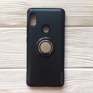 TPU+PC чехол Deen Verus с креплением под магнитный держатель для Xiaomi Redmi Note 5 Pro/Note 5 (Metal Slate)