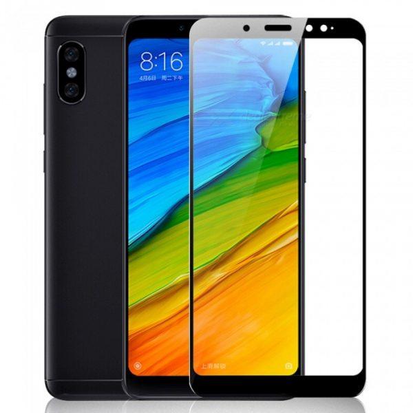 Защитное стекло 3D CP+ на весь экран (цветное) для Xiaomi Redmi Note 5 Pro / Note 5 (Black)