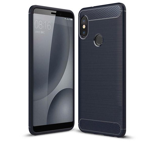 Темно-синий силиконовый (TPU) чехол (накладка) Slim Series для Huawei P Smart+ (nova 3i) Blue