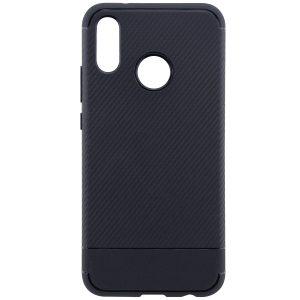 Cиликоновый (TPU) чехол Carbon  для Huawei P20 Lite (Черный)