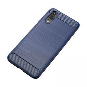 Cиликоновый (TPU) чехол Ipaky Slim Series для Huawei P20 Lite (Blue)