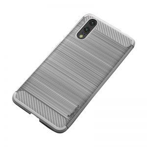 Cиликоновый (TPU) чехол Ipaky Slim Series  для Huawei P20 Lite (Grey)