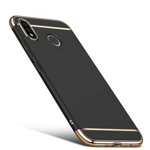 Матовый пластиковый чехол Joint Series для Huawei Honor 8x (Black)
