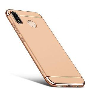 Матовый пластиковый чехол Joint Series для Xiaomi Redmi Note 6 Pro (Gold)