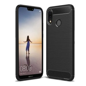 Cиликоновый (TPU) чехол Slim Series для Huawei P20 Lite (Black)